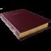 Biblia - format mediu [piele visinie, margini aurii]